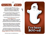 image relating to You've Been Booed Printable referred to as Youve Been Booed - Print the Phantom Ghost Poem - Halloween